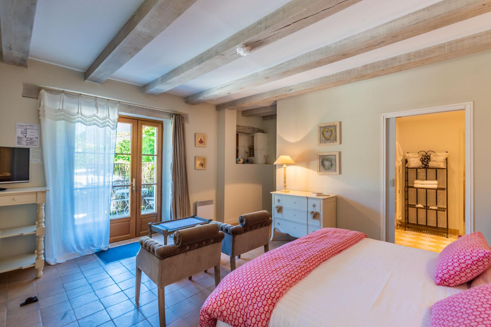 Moulin de Vigonac - Chambre Helene